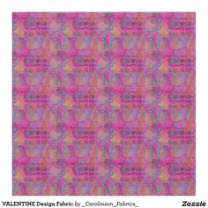 VALENTINE Design Fabric