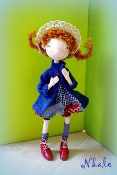 игрушка, авторская кукла, ручная работа