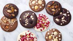 Receta de Monedas o bombones de chocolate para Navidad