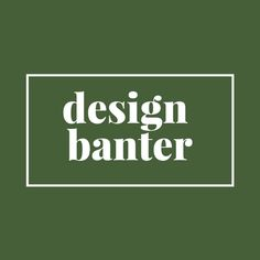 Design Banter on Apple Podcasts Interior Styling, Interior Design, Little Spoon, Earth Design, Cool Designs, How To Get, Comfy, Interiors, Trends