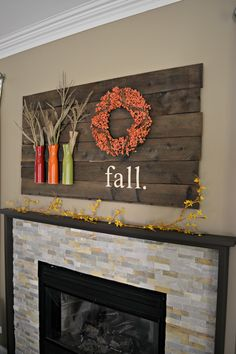 My Fall Mantle 2014 | laughingabi.com