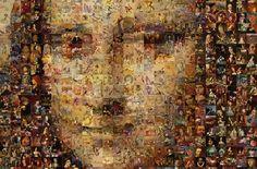 """-Haz click en las imágenes, algunas se pueden ver a mayor resolución- AUTOR Robert Silvers TÍTULO Remastered Mona Lisa PAÍS Estados Unidos ENLACES 1. La web del autor """"photomosaic.com"""" …"""