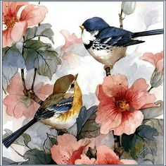 Humming Bird Discover Animal Diamond Painting Birds & Flowers Cross Stitch Square Drill / Round Drill Home Decoration Painting Acrylic Painting Tutorials, Diy Painting, Painting & Drawing, Painting Canvas, Canvas Art, Watercolor Bird, Watercolour Painting, Watercolors, Decoupage