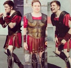 Patrick Stump. The cutest gladiator there ever was. <3