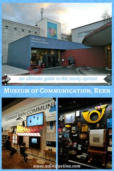 An ultimate guide and my honest review of the newly opened Museum of Communication in Bern, Switzerland