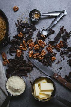 Chocolate&Pecan Brownies (recipe and photograpy by Tanya Balyanitsa (more on Honeytanie.com)