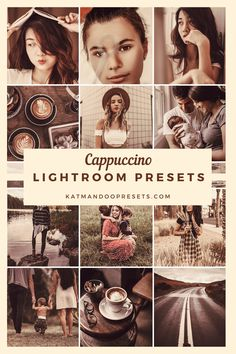 CAPPUCCINO Mobile Lightroom PresetsCappuccino bundle preset is Lightroom preset that captures the warmth of a neighborhood café. This photo filters do cast a tint of coffee hues. Image Editing, Lightroom Presets, Your Image, Instagram Feed, Benefit, Filters, How To Look Better, Vsco, Adobe