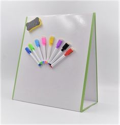 Magnetic Innovations Large A3 Dry Wipe Magnetic Whiteboard Ideal as a Weekly Fa