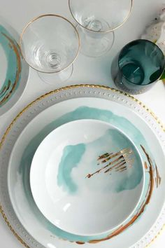 Lot de 6 grandes porcelaine blanche 26 cm Spaghetti Carbonara Assiettes à Pâtes Plats