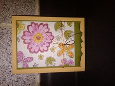 colors card  Stampin Up
