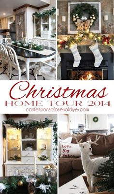 Christmas Home Tour 2014 | Confessions of a Serial Do-it-Yourselfer