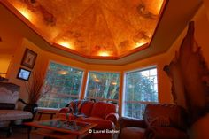 Ceiling Mural Interior Design | Ceiling and Wall Murals Ceiling and Wall Murals and Interior Design by ...