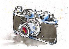 """Leica III"" (32,5x46 cm.) - © francesc palomas"