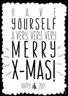 FDBCK cards kerstkaart met have yourself a very mery christmas versturen. - KaartWereld