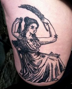 BRUCIUS TATTOO - etching