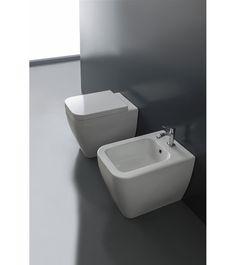 Scarabeo Next Gulvstående toalett mm, Hvit Sink, Bathtub, Flooring, Bathroom, Home Decor, Sink Tops, Standing Bath, Washroom, Vessel Sink
