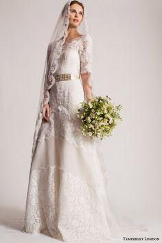 Temperley London Summer 2016 Wedding Dresses — Marianna #Bridal Collection | Wedding Inspirasi #wedding #weddings #weddingdress #weddinggown