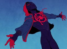 Miles Morales Spider-Man into the spiderverse Marvel Art, Marvel Dc Comics, Marvel Avengers, Miles Morales Spiderman, Drawing Cartoon Characters, Movies And Series, Spiderman Art, Spider Gwen, Spideypool