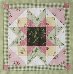 The Fence Post: American Beauty Block of the Month
