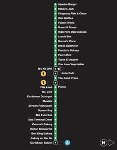 The top 69 cheap eats in Toronto by TTC subway stop Short Textured Haircuts, Nyc Subway Map, Bread And Roses, Brighton Map, Yonge Street, Good Press, Fish And Chips, Good To Know, Toronto