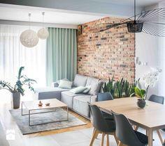 Aranżacje wnętrz - Salon: Projekt domu szeregowego - Salon - Biuro projektowe Joanna Karwowska. Przeglądaj, dodawaj i zapisuj najlepsze zdjęcia, pomysły i inspiracje designerskie. W bazie mamy już prawie milion fotografii!