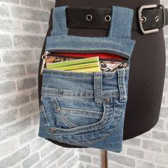 Diy Jeans, Denim Bags From Jeans, Denim Purse, Denim Outfit, Diy Bags Purses, Women's Bags, Jean Purses, Denim Crafts, Recycled Denim