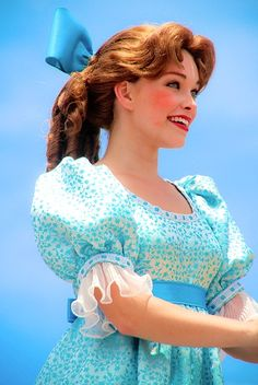 Wendy Darling Face Character