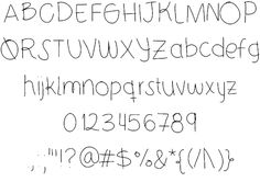 Image for 21stCenturyJuliet font