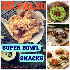 20 Paleo Super Bowl Snacks