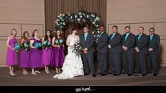 A good wedding party in the Jonesboro area. | Tim Rand Photography