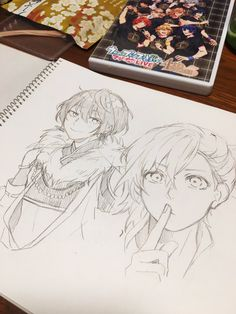 I'm sure this is a cross-over Anime Drawing Books, Anime Drawing Styles, Anime Drawings Sketches, Manga Drawing, Manga Art, Cute Drawings, Anime Art, Drawing Reference Poses, Art Reference