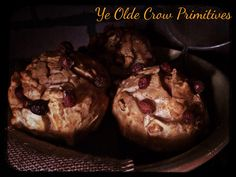 Some spray foam cranberry muffins By: Ye Olde Crow Primitives