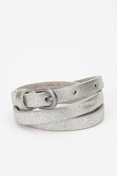 BDG Metallic Skinny Belt
