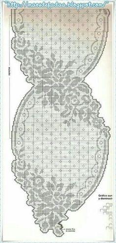 Crochet lace table runner pattern beautiful New Ideas Filet Crochet Charts, Crochet Doily Patterns, Crochet Art, Crochet Home, Thread Crochet, Crochet Motif, Crochet Designs, Crochet Crafts, Crochet Doilies