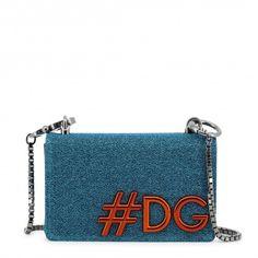 Dolce&Gabbana Women Crossbody Bag Blue Leather Handbag Satchel Tote Hobo for sale online Dolce & Gabbana, Dolce And Gabbana Handbags, Dolce And Gabbana Blue, Red Crossbody Bag, Leather Crossbody, Blue Shoulder Bags, Shoulder Strap, Calvin Klein, Mode Shop