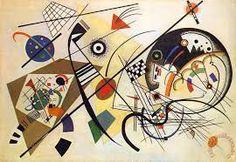 Vasilij Vasil'evič Kandinskij, Linea Trasversale, 1923. Colore ad olio, Kunstsammlung Nordrhein-Westfalen