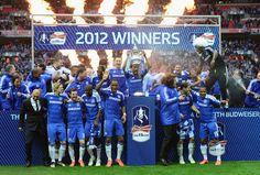 Chelsea 2012 FA Cup winners!