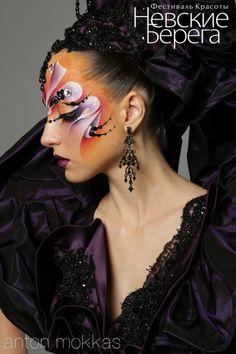 2 вид. Фантазийный макияж   Фестиваль красоты Невские Берега