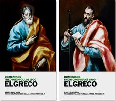 Diseño gráfico de El Greco 1900. México  – Oscar Mariné