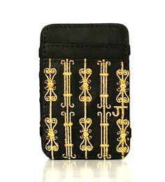 JT Magic Wallet Imperial Color: Golden #couro #bordado #fashion #accessories #moda #style #design #acessorios #leather #joicetanabe #carteira #carteiramagica #courolegitimo #wallet