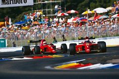 Prost-Mansell, 1990