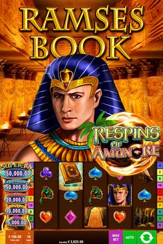 Ramses Book Respins Of Amun-Re has 5 reels and 10 paylines. You will find 9 standard symbols in this slot game – an eagle, four playing card suits, a flower, cat statues, an obelisk with ancient Egyptian inscriptions and Ramses himself. If a player lands five or more bonus symbols they will activate three respins of Amun-Re. Cat Statue, Best Online Casino, Slot Machine, Statues, Egyptian, Playing Cards, Eagle, Symbols, Suits