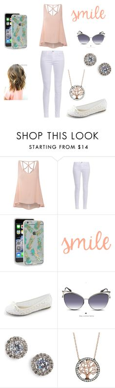 """""""Untitled #219"""" by chichidv ❤ liked on Polyvore featuring Glamorous, J Brand, Sonix, Dita Von Teese and Nadri"""