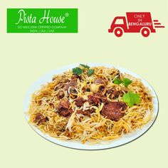 "‪#‎IFTAR‬ DHAMAKA OFFER! Order tasty ‪#‎PistaHouse‬ mutton biryani family pack with 8 pieces of chicken only at ‪#‎BringHomeFestival‬ and get 30% off on ‪#‎Ramzan‬ food items. Special offer only between 11 am to 12 noon. Use ‪#‎CouponCode‬: ""RAMADAN2016"" to avail the offer."
