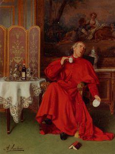 https://es.pinterest.com/dianademeridor/le-paravent/ -------------------------- Too Hot! by Italian Painter Andrea Landini 1847-1935