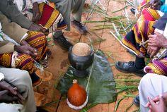 Sidama ceremony. Ethiopia.