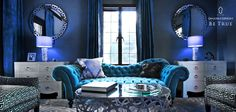 Let the #blue take over your walls too, everything will be turning blue soon! Stay with us, #BeTrueToBlue