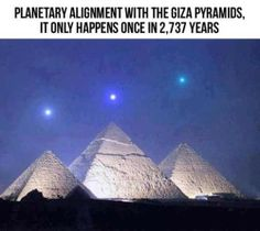 Planetary alignment with the pyramids