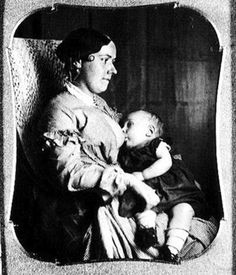 Bizarre pictures reveal the unlikely trend for photographs of breastfeeding mothers in Victorian-era America