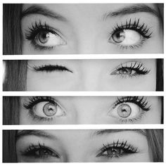 super simple but cute eye makeup